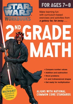 Star Wars 2nd Grade Math, for Ages 7-8 (Paperback)