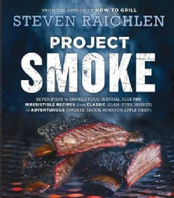 Project Smoke: Seven Steps to Smoked Food Nirvana, Plus 100 Irresistible Recipes from Classic (Slam-dunk Brisket)... (Paperback)