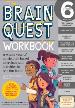 Brain Quest Workbook Grade 6 (Paperback)