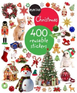 Eyelike Christmas: 400 Reusable Stickers (Paperback)
