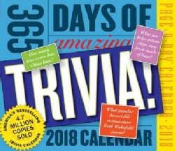 365 Days of Amazing Trivia! 2018 Calendar (Calendar)