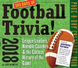 A Year of Football Trivia! 2018 Calendar (Calendar)