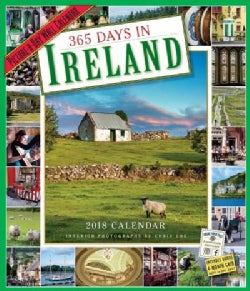 365 Days in Ireland Picture-a-day 2018 Calendar (Calendar)