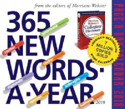 365 New Words-A-Year 2018 Calendar (Calendar)