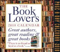The Book Lover's 2018 Calendar: Great Authors, Great Reading & Great Books (Calendar)