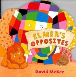 Elmer's Opposites (Board book)