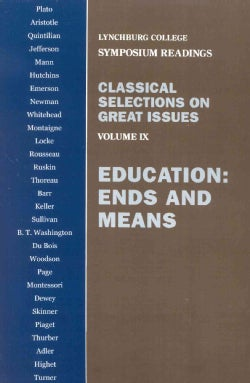 Education: Ends and Means (Paperback)