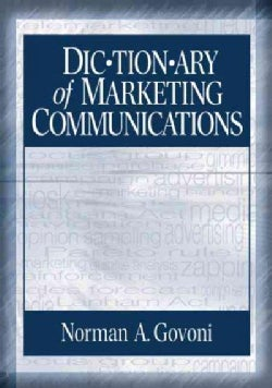Dictionary of Marketing Communications (Paperback)