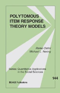 Polytomous Item Response Theory Models (Paperback)