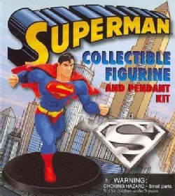 Superman Collectible Figurine and Pendant Kit (Hardcover)
