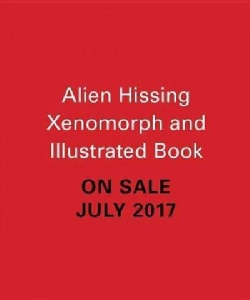 Alien - Hissing Xenomorph + Illustrated Book: With Sound!