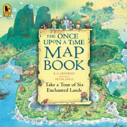 The Once Upon a Time Map Book: Take a Tour of Six Enchanted Lands (Paperback)
