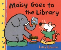 Maisy Goes to the Library: A Maisy First Experience Book (Paperback)