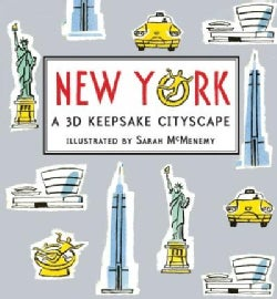New York: A 3D Keepsake Cityscape (Hardcover)