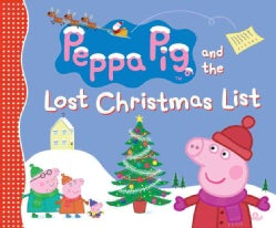 Peppa Pig and the Lost Christmas List (Paperback)