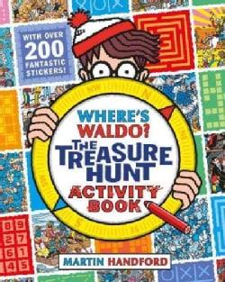 Where's Waldo?: The Treasure Hunt Activity Book (Paperback)