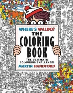 Where's Waldo?: The Coloring Book (Paperback)