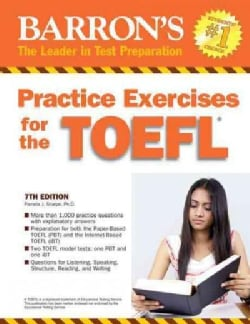 Barron's Practice Exercises for the TOEFL: Test of English As a Foreign Language (Paperback)