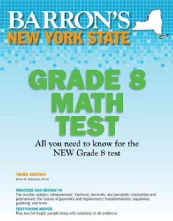 Barron's New York State Grade 8 Math Test (Paperback)