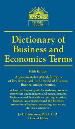 Dictionary of Business and Economic Terms (Paperback)