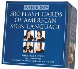 Barron's 500 Flash Cards of American Sign Language (Cards)