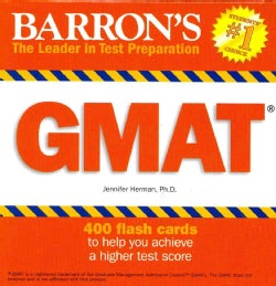 Barron's GMAT Flash Cards (Cards)