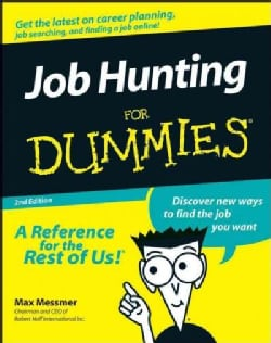 Job Hunting for Dummies (Paperback)