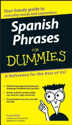Spanish Phrases for Dummies (Paperback)