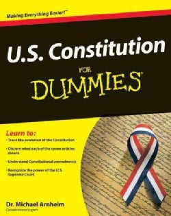 U.S. Constitution For Dummies (Paperback)