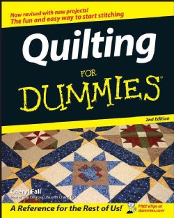 Quilting for Dummies (Paperback)