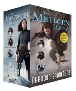 The Mistborn Trilogy: Mistborn, the Hero of Ages, and the Well of Ascension (Paperback)