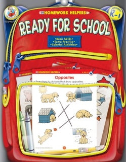 Homework Helpers Ready for School Grades Prek - 1 (Paperback)