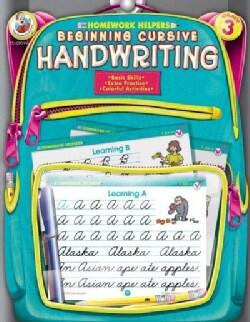 Homework Helpers Beginning Cursive Handwriting Grade 3 (Paperback)