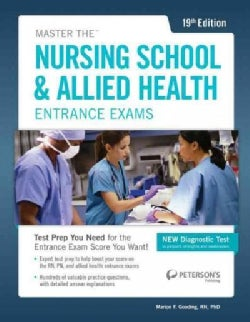 Peterson's Master the Nursing School & Allied Health Exams (Paperback)