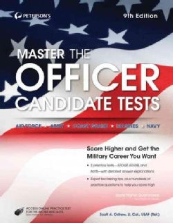 Peterson's Master the Officer Candidate Tests (Paperback)
