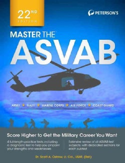 Peterson's Master the Asvab (Paperback)