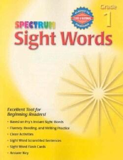 Spectrum Sight Words Grade 1 (Paperback)