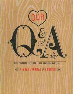 Our Q & a a Day: 3-year Journal for 2 People (Notebook / blank book)