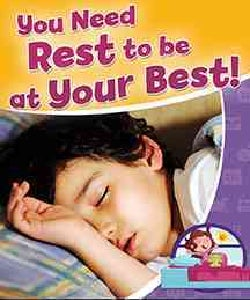 You Need Rest to Be at Your Best! (Paperback)