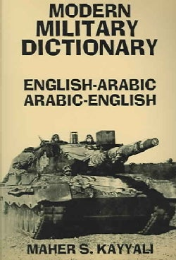 Modern Military Dictionary: English-Arabic/Arabic-English (Paperback)