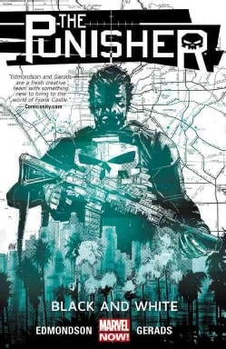 The Punisher 1: Black and White (Paperback)