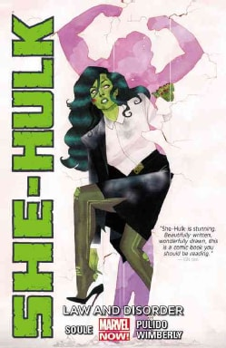 She-hulk 1: Law and Disorder (Marvel Now!) (Paperback)