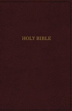 Holy Bible: King James Version, Thinline Reference, Imitation Leather, Burgundy, Red Letter Edition (Paperback)