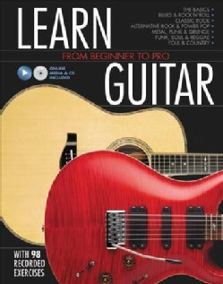 Learn Guitar: From Beginner to Pro (Hardcover)