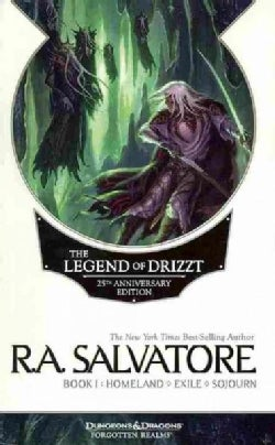 The Legend of Drizzt Book 1: Homeland / Exile / Sojourn (Paperback)
