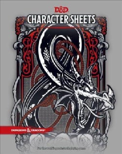 D&D Character Sheets (Other book format)
