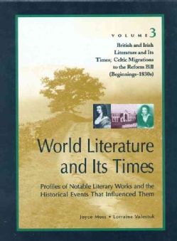 World Literature and Its Times: British and Irish Literature and Their Times (Hardcover)