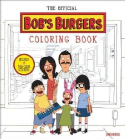 The Official Bob's Burgers Coloring Book (Paperback)