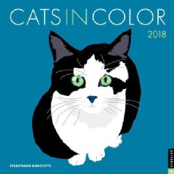 Cats in Color 2018 Calendar (Calendar)