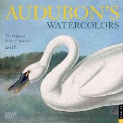 Audubon's Watercolors 2018 Calendar (Calendar)